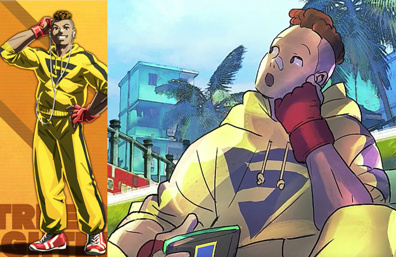 The Visual Log – Sean Cameo In Street Fighter V Story Mode